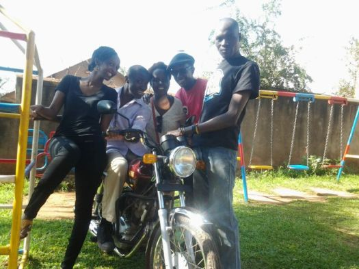 Hug a boda guy today :)