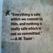 commit to him