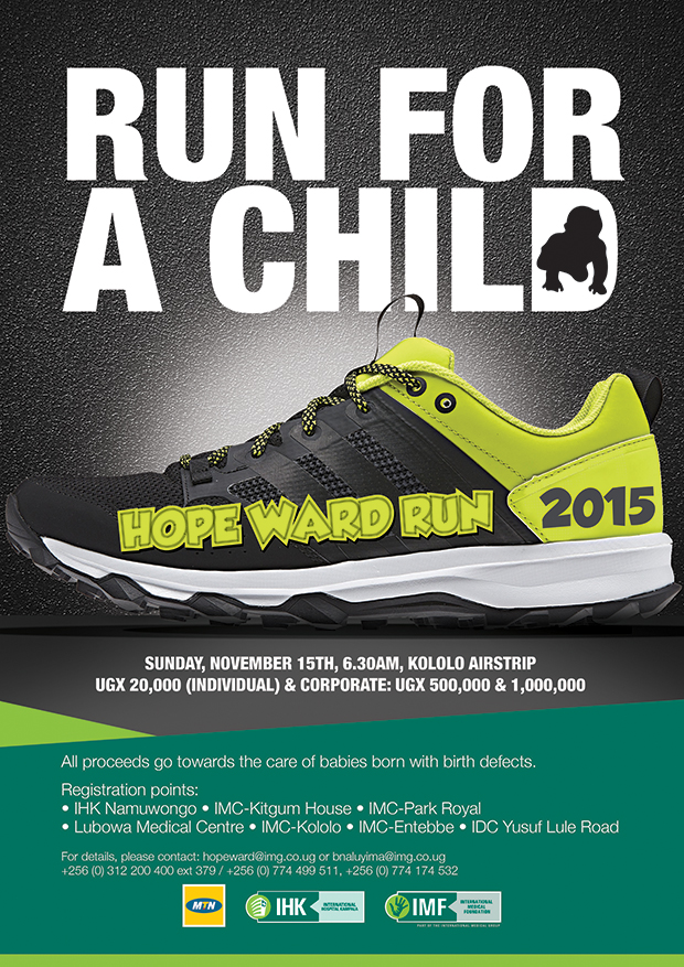 Hope Ward Run Flier 2015