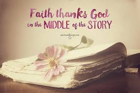 faith thanks God