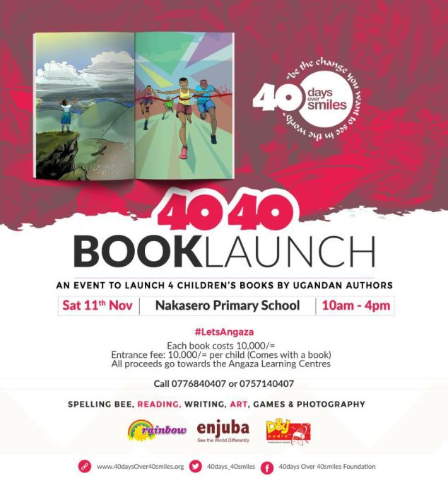 book launch poster
